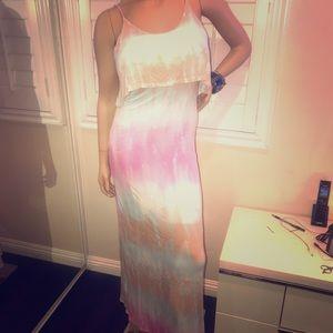Ty Dye Maxi Dress Sz L